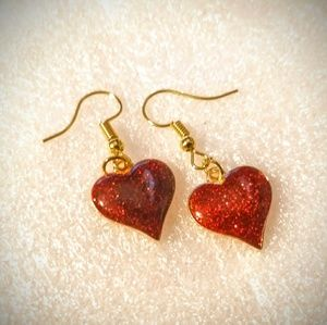 Jewelry - HEART EARRINGS ❤️💕💕❤️ Jewelry - Red Love Gift